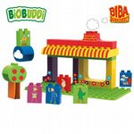 BiOBUDDi - Biba Farm - Eco Friendly Block Set - 36 Blocks